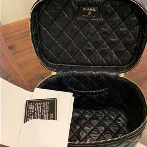Authentic Chanel vanity case